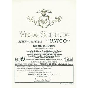 Vega Sicilia Unico Magnum